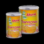 Duraznos en Almibar